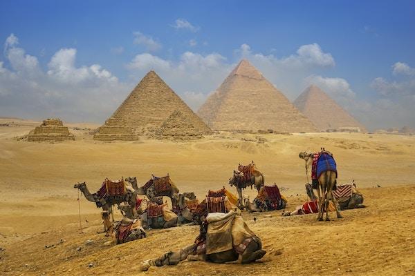 Egypt pyramidene