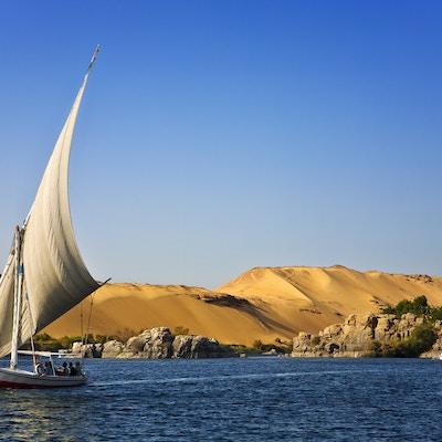 Felukka på Nilen