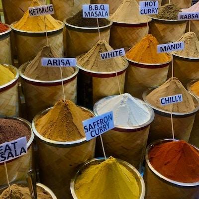 kryddermarked Dubai