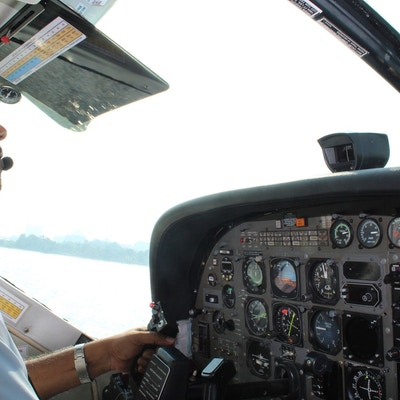 Sjøfly over Dubai