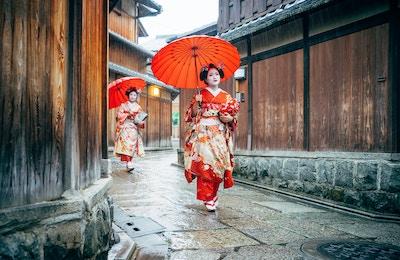 Getty Images 538589734 Japan Kyoto geisha meiko