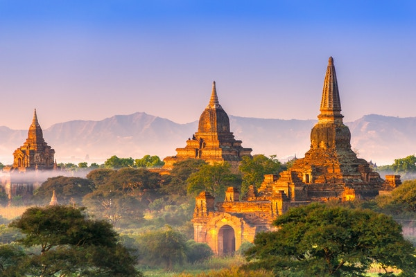 Bagan i morgenlys