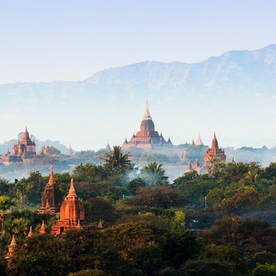 Templer i Bagan, Myanmar