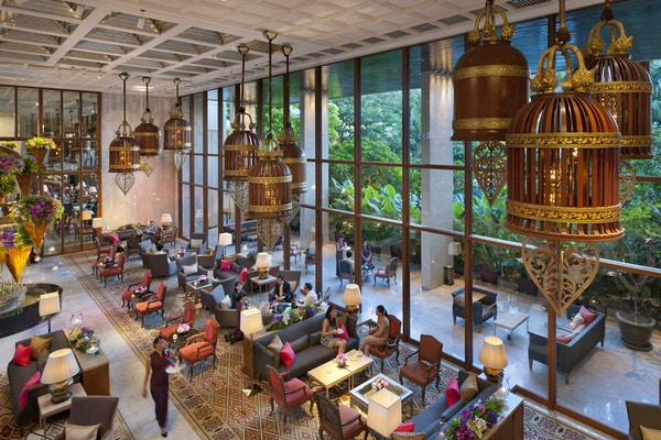 Oriental Hotel, Bangkok, lobby