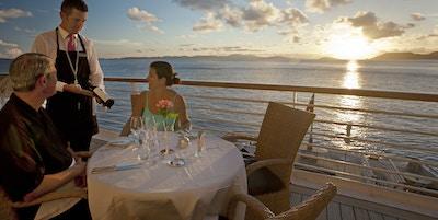 Romantisk middag på cruise