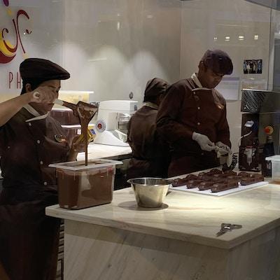 Sjokoladebutikk på MSC Grandiosa