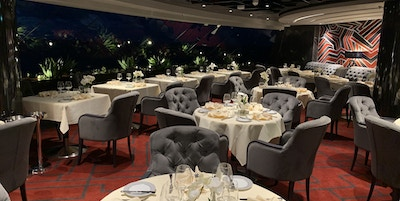 Restaurant Yacht Club MSC Grandiosa