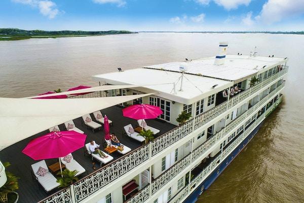 Elvecruise på Mekong