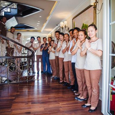 Ansatte på Mekong Navigator