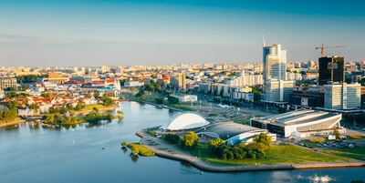 Oversiktsbilde Minsk