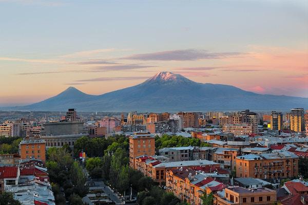 Utsikt over Jerevan