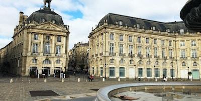 Place de la Bourse. Bordeaux