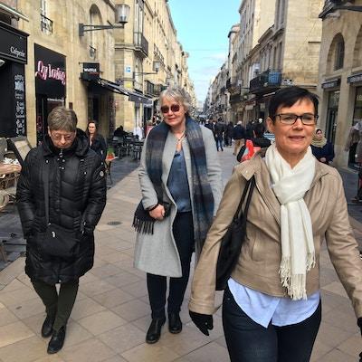 I gågata i Bordeaux