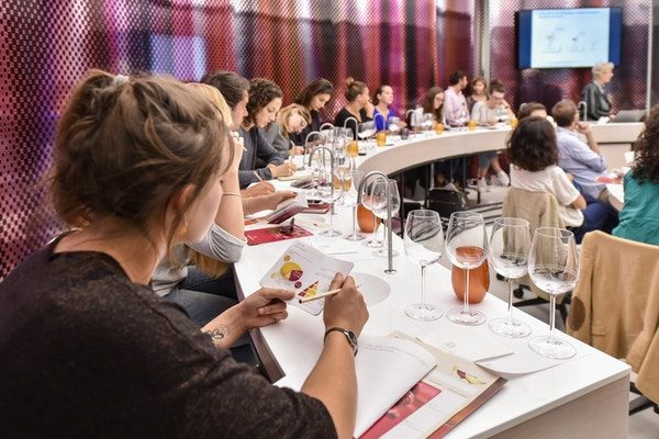 Vinsmaking på vinmuseet i Bordeaux