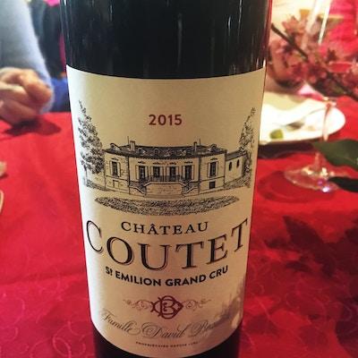 Bordeaux Coutet vin
