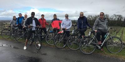 Escape, elvecruiseavdelingen på sykkeltur