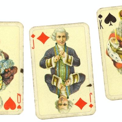 Vintage kortspill