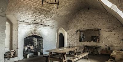 Kjøkken middelalderborg