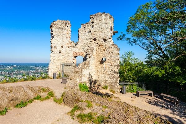 Drachenfels, ruin etter slott