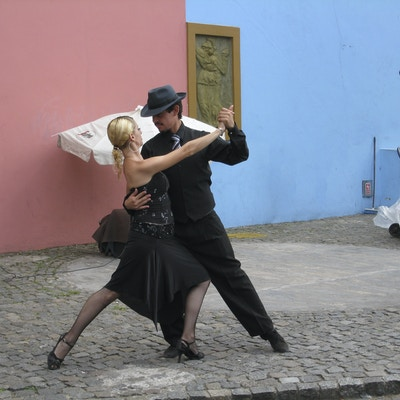 Gatetango i La Boca Buenos Aires