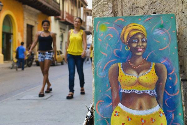Cartagena Colombia maleri