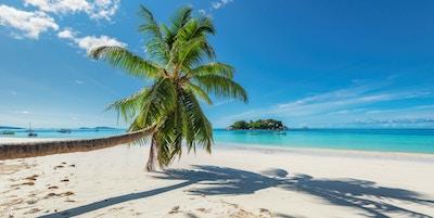 Tropisk øy i Karibien