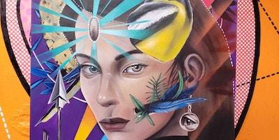 Grafittikunst fra Bogota